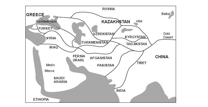 Рисунок. Карта-схема Великого